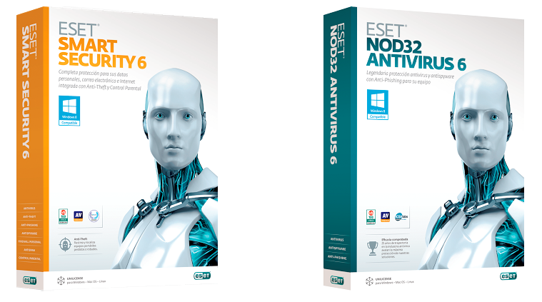 Licencias Eset Smart Security Y Nod32 Antivirus 5 Y 6